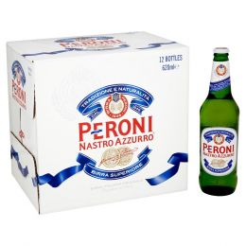 Peroni Nastro Azzurro Premium Lager 12x 620ml