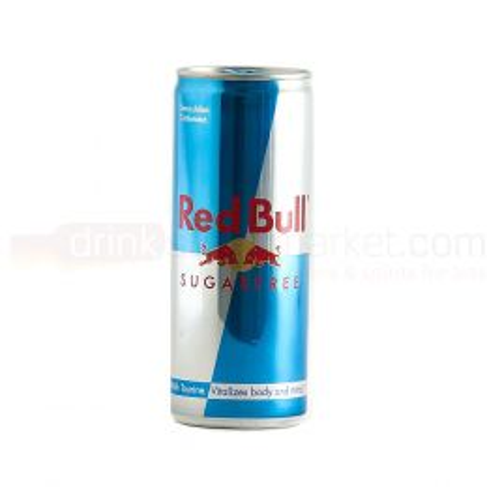 Red Bull Energy Drink Sugarfree 24x250ml Case