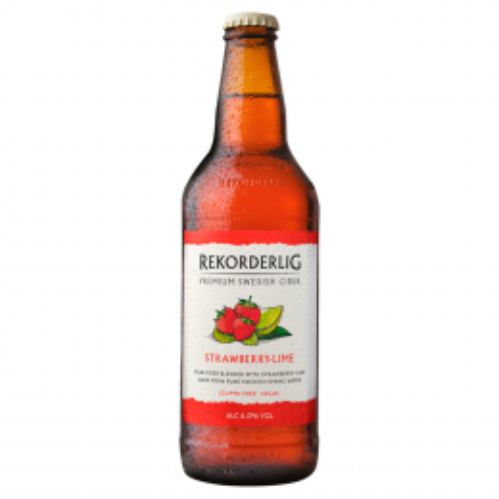 Rekorderlig Strawberry & Lime Premium Cider 15x 500ml