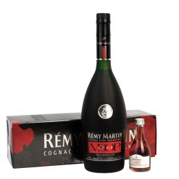 Remy Martin VSOP Cognac 70cl and 1738 5cl Miniature Gift Pack