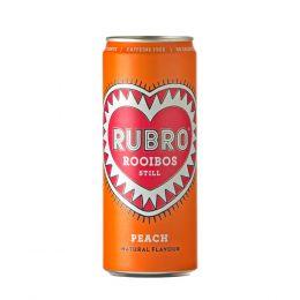 Rubro Peach Rooibos Drink 330ml