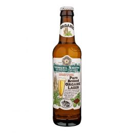 Samuel Smiths Pure Brewed Organic Lager 24x 355ml