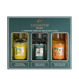 Sipsmith Gin 3x5cl Miniature Gift Pack