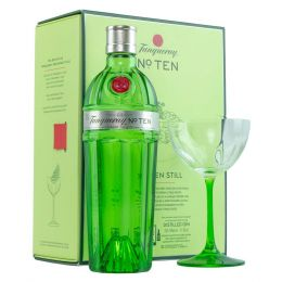Tanqueray No. Ten 10 Gin 70cl Coupette Glass Gift Pack