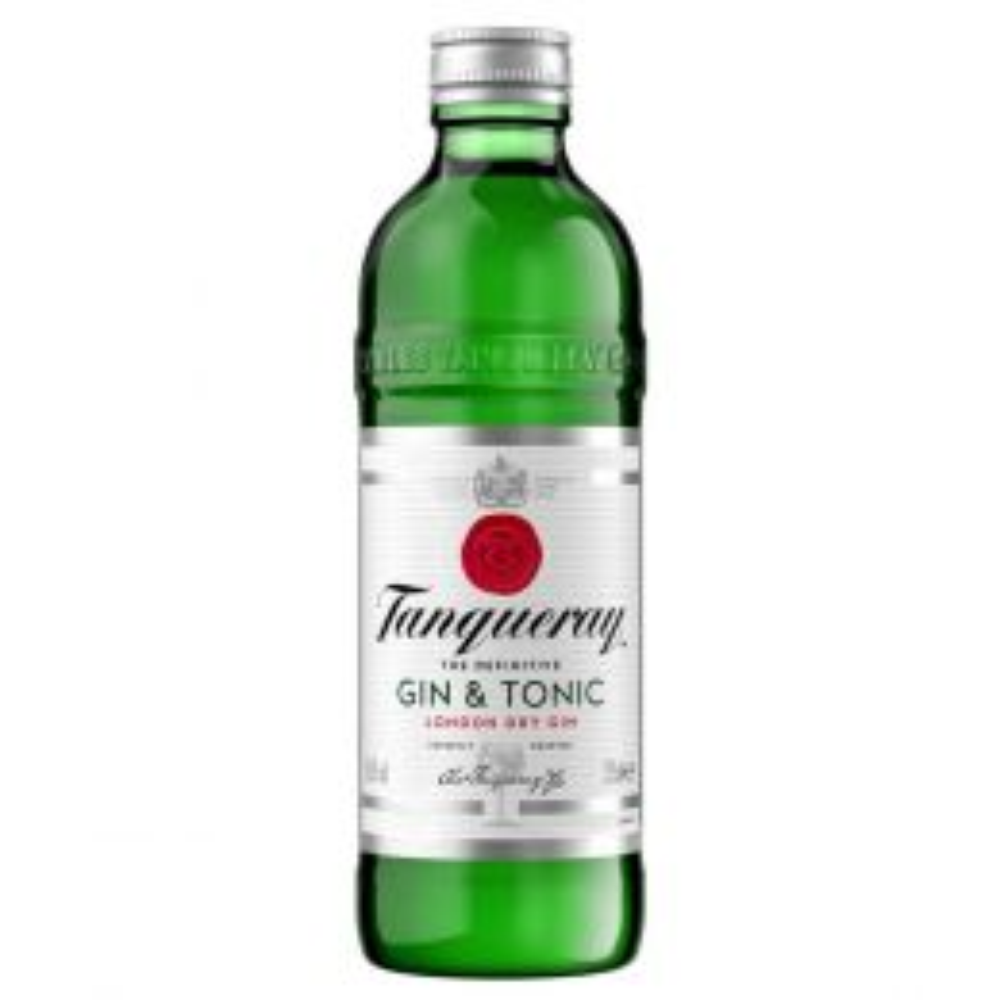Tanqueray Gin & Tonic Premixed Bottles 275ml