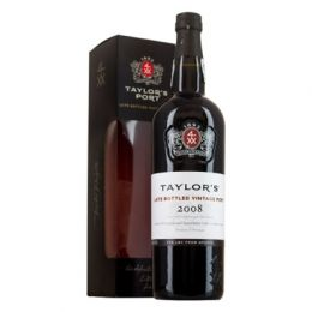 Taylors LBV 2008 Port 75cl Gift Box