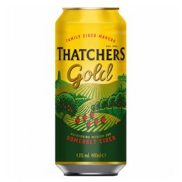 Thatchers Gold Cider 10x 440ml Cans