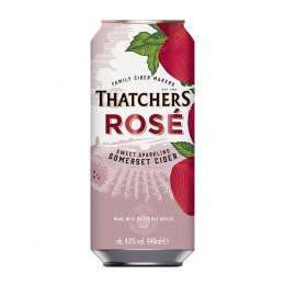 Thatchers Rose Cider 24x 440ml Cans
