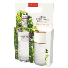 The Botanist Gin 70cl Herb Planter Gift Pack