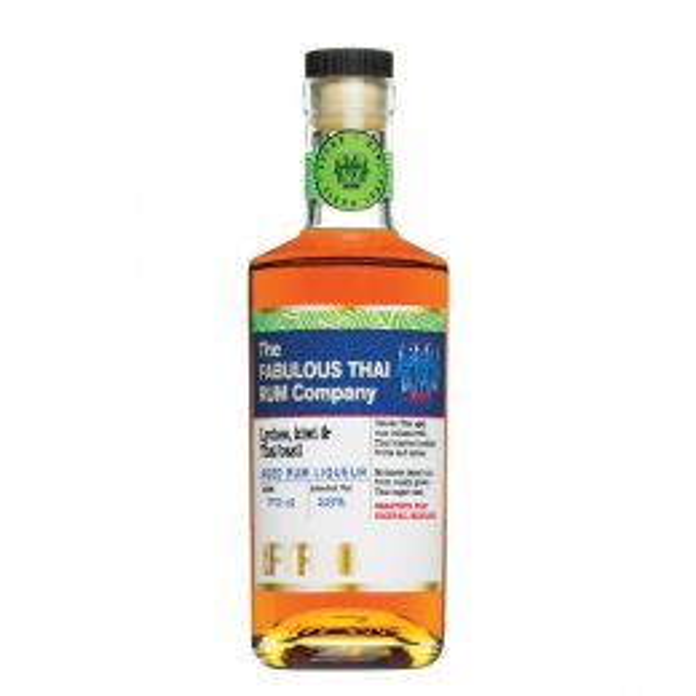 The Fabulous Thai Rum Company Lychee, Kiwi & Thai Basil Liqueur 70cl