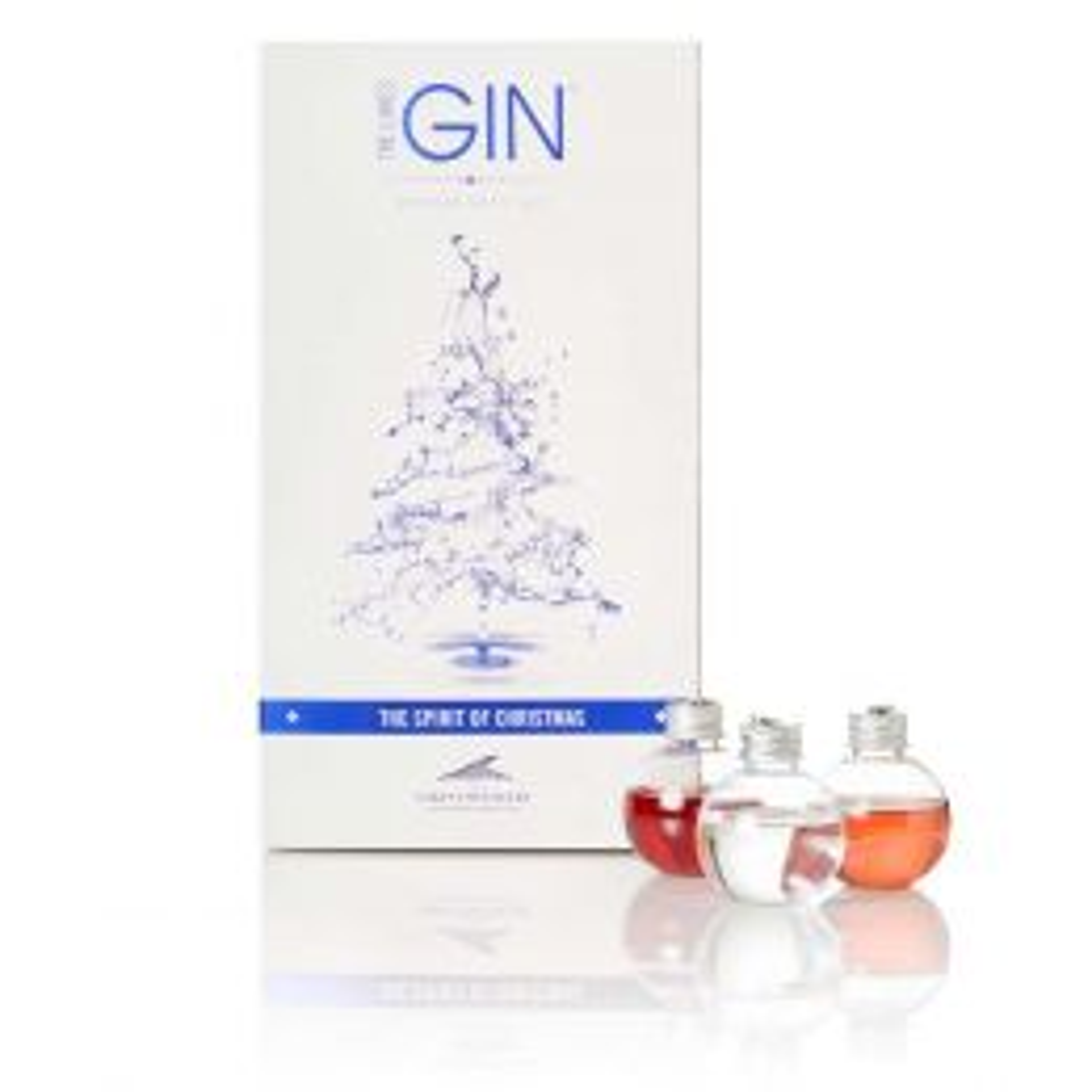 The Lakes Gin & Liqueur Baubles 6x 50ml Pack