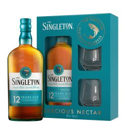 The Singleton Of Dufftown 12 Year Whisky 70cl Gift Pack