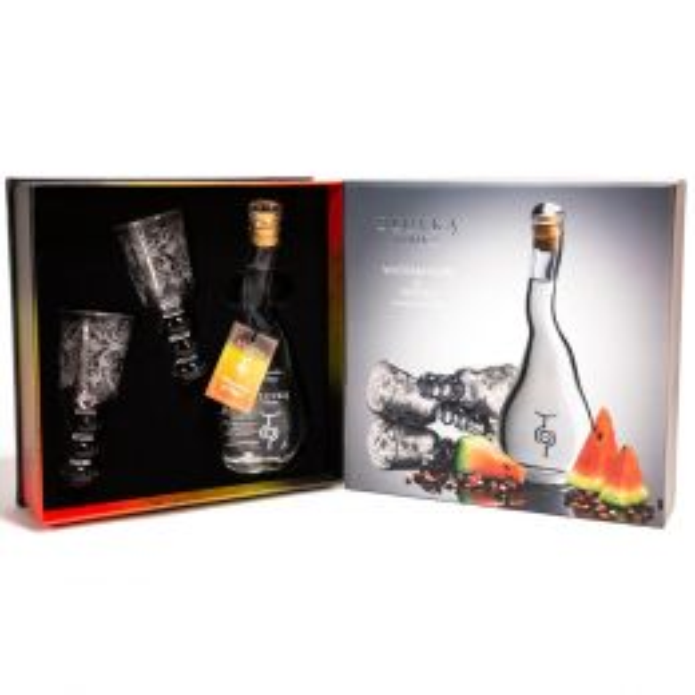 U'Luvka Watermelon & Pepper Vodka 10cl Spirit of Pleasure Gift Pack