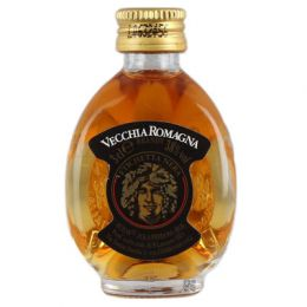 Vecchia Romagna Etichetta Nera Black Label Brandy 3cl Miniature