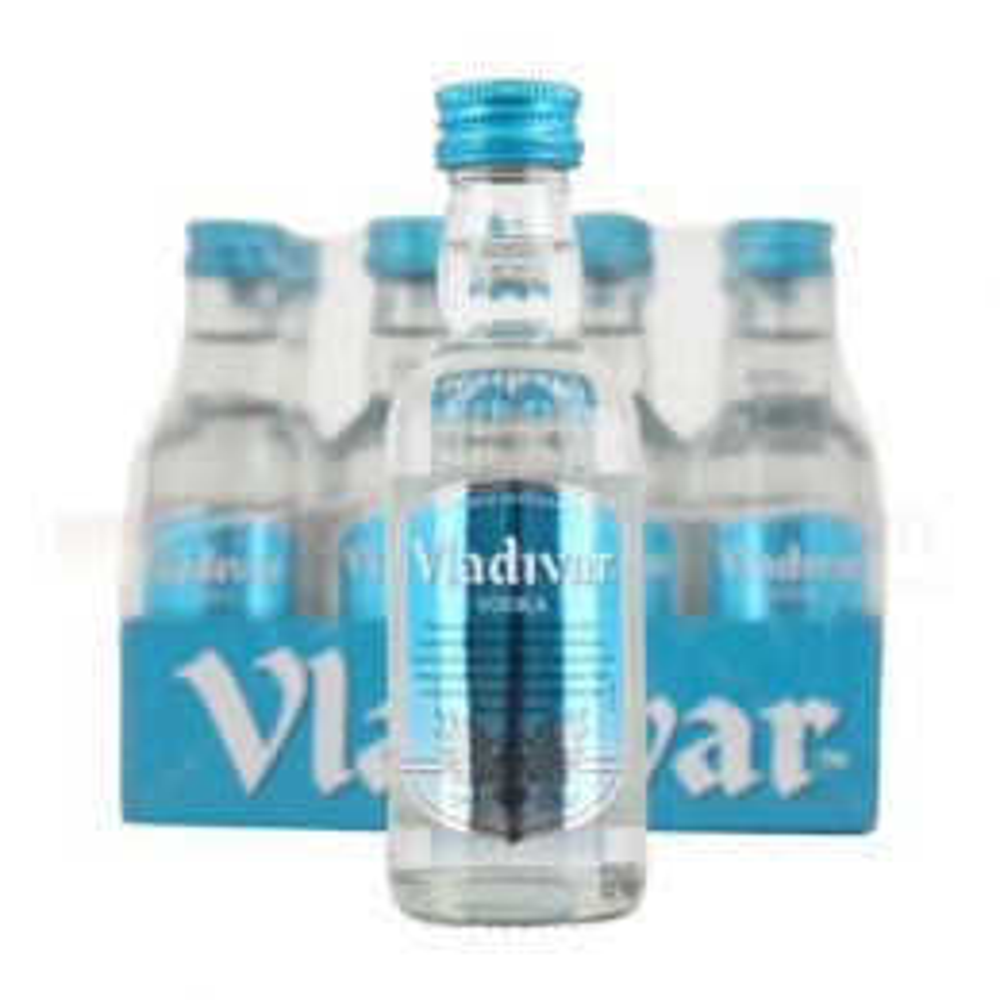 Vladivar Vodka 12x 5cl Miniature Pack