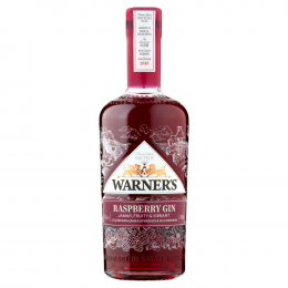 Warner's Raspberry Gin 70cl