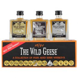 Wild Geese Collection of Whiskies 3x 5cl Gift Taster Pack