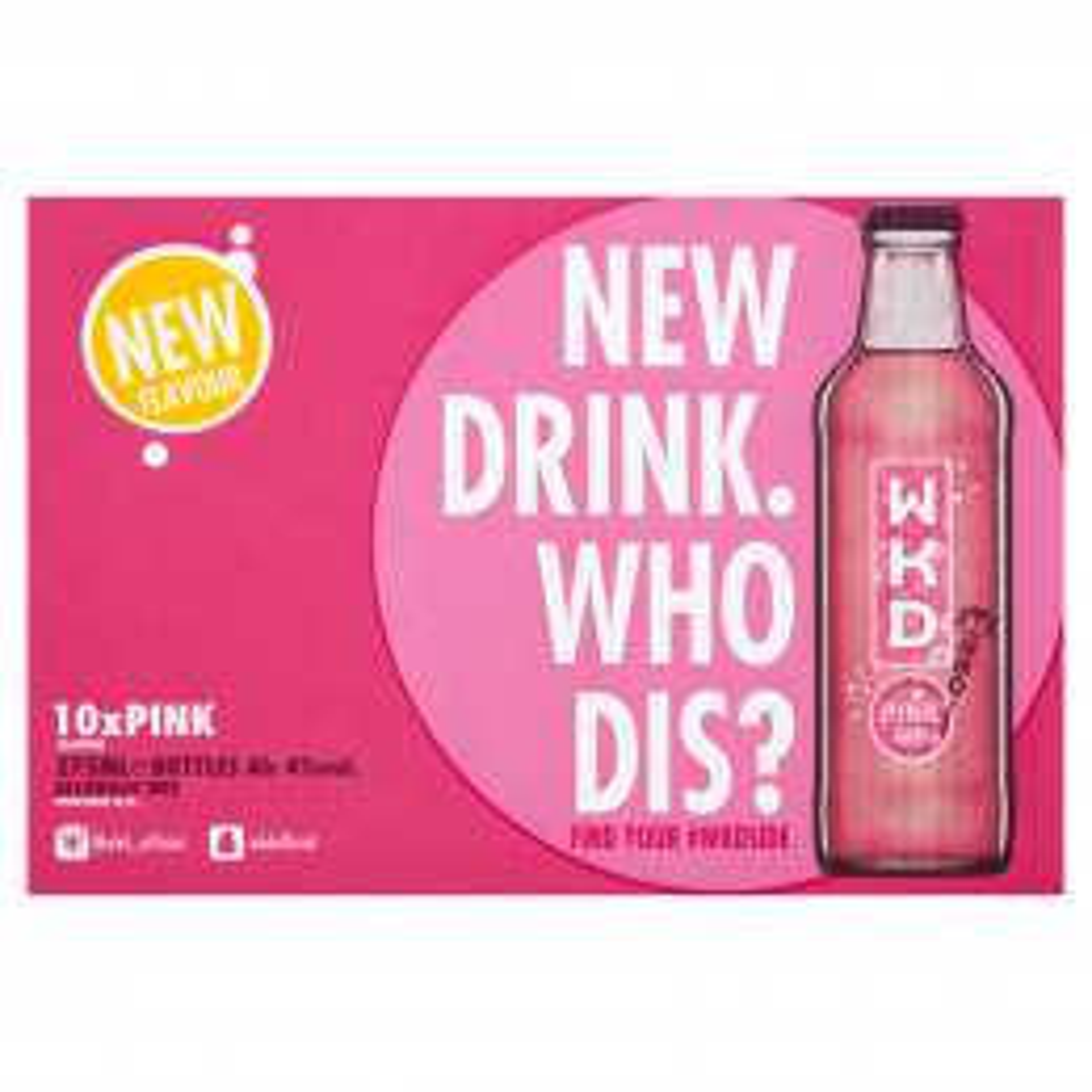 WKD Pink 24x 275ml
