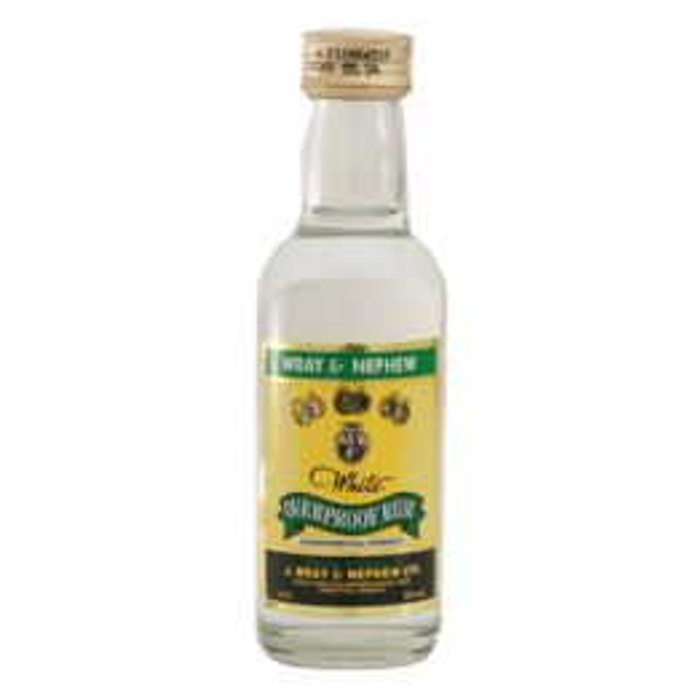 Wray & Nephew Overproof Rum 12x 5cl Miniature Pack