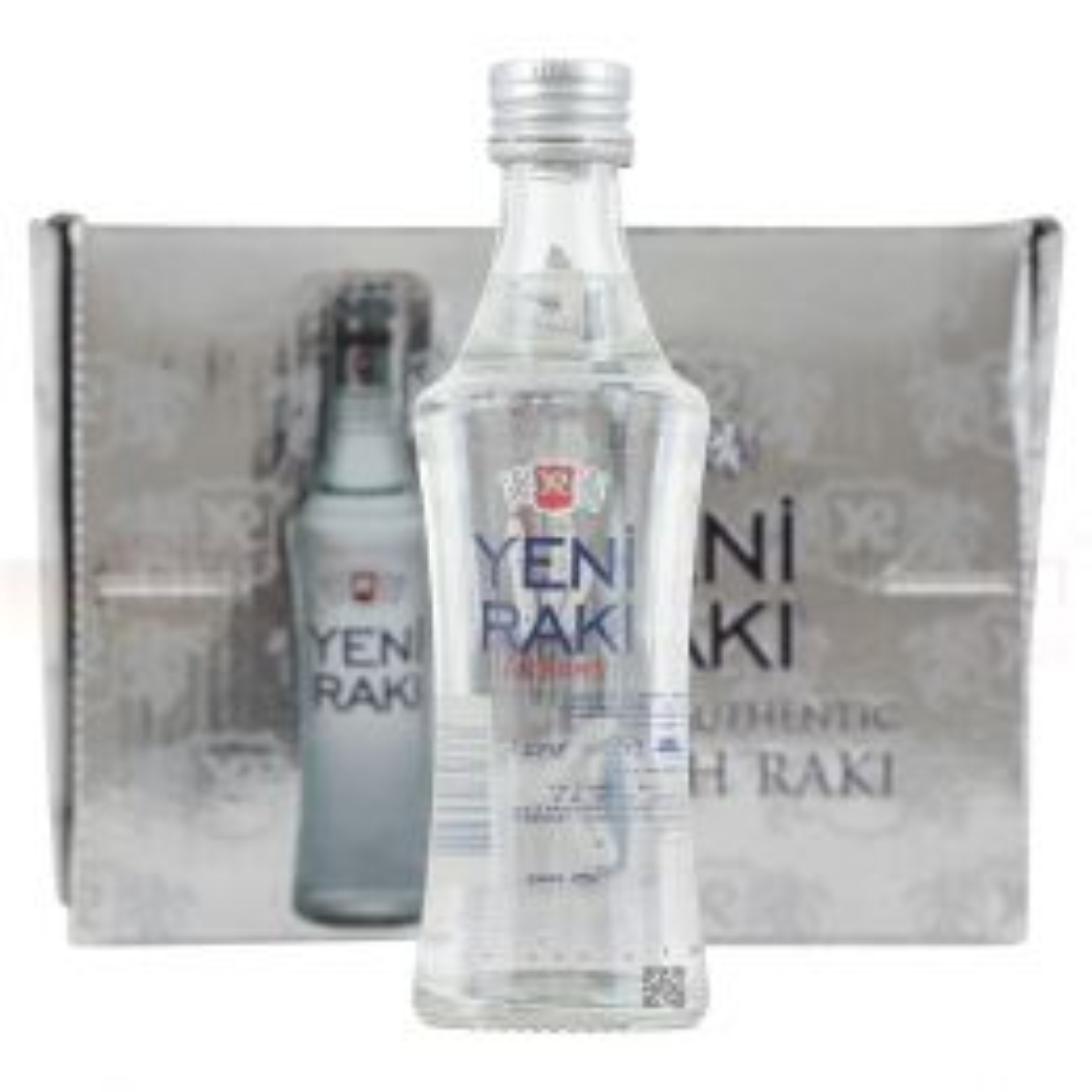 Yeni Raki Turkish Aperitif 12x 5cl Miniature Pack 45%