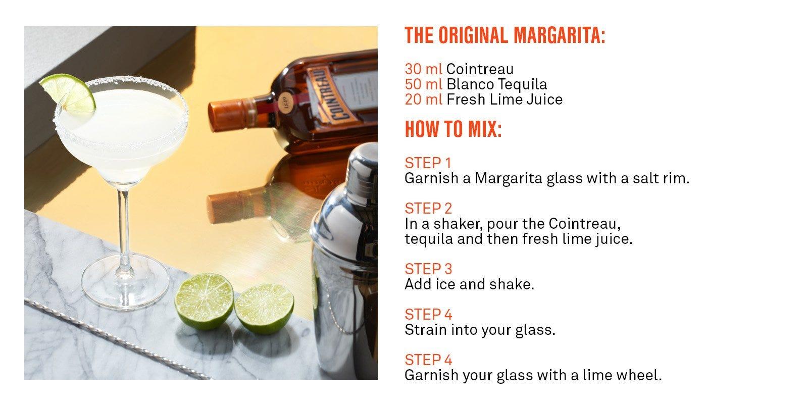 Cointreau Margarita Cocktail