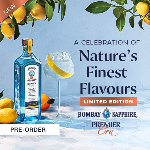 2021 10 11 Bombay Sapphire Premier Cru Murcian Lemon Gin