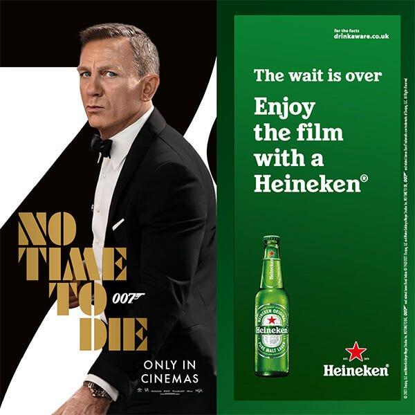 2021 10 11 Heineken No Time To Die