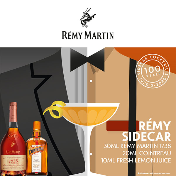 2021 10 14 Remy Martin Sidecar Cocktail