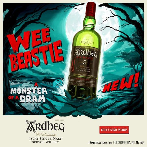 2021 10 20 Ardbeg Wee Beastie Halloween