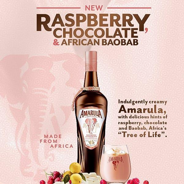 2021 11 12 Amarula Raspberry Chocolate African Baobab
