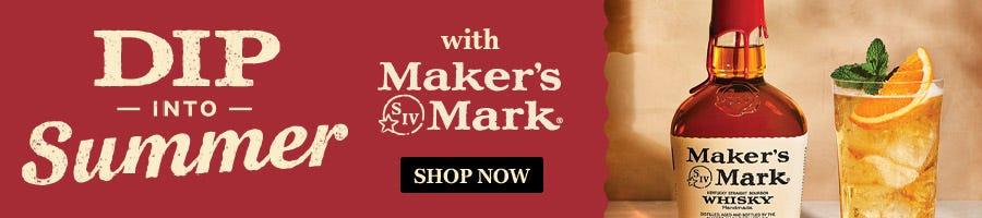 Makers Mark Dip Summer Whisky